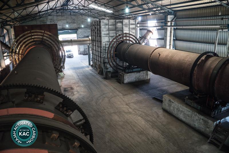 Kajah Activated Carbon Kilns